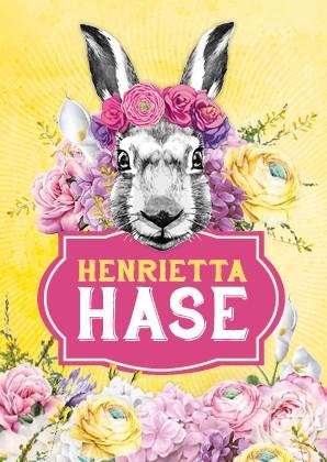 Postkarte - Henrietta Hase