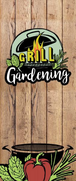 Dekobanner - Grill Gardening