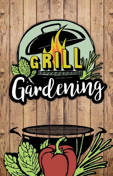 Thekenaufsteller - Grill Gardening