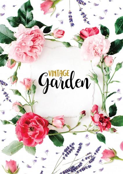 DIN-A1 Plakat - VIntage Garden