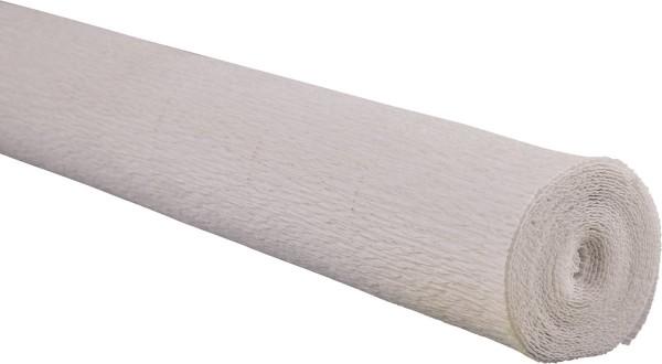 Krepp-Papier 50x250cm reinweiß
