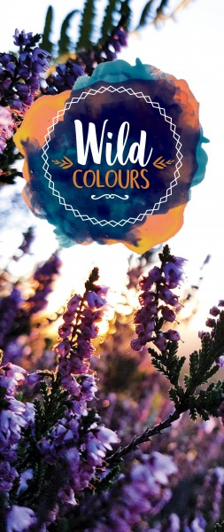 Dekobanner - Wild colours
