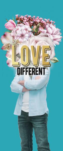 Dekobanner - Love Different
