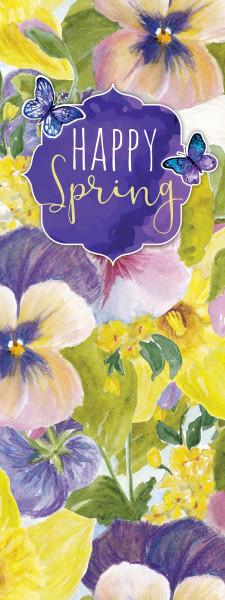 Hissflagge - Happy Spring