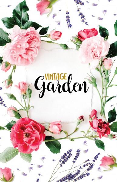 Tischaufsteller Exklusiv - Vintage Garden