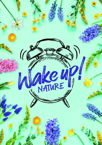 Postkarte - Wake Up Nature