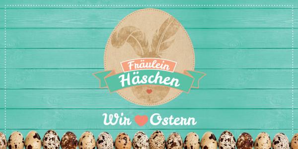 Deckenbanner - Fräulein Häschen