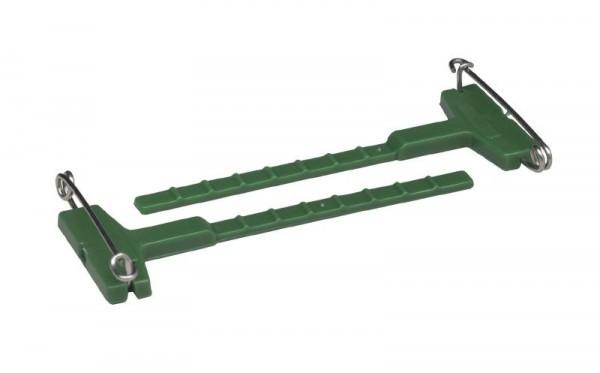 Revers Anstecknadeln grün - 10 / 5 cm