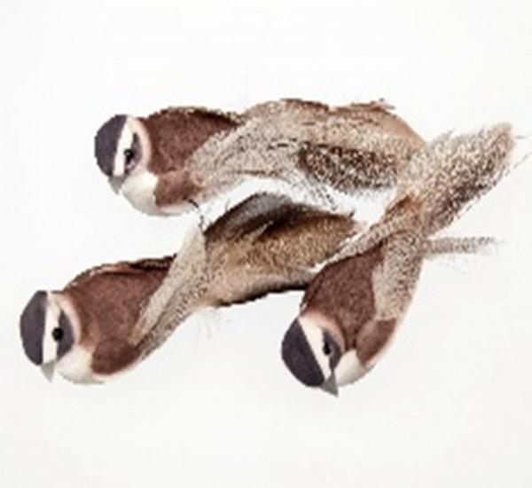 Vogel braun 13cm in Box (10)