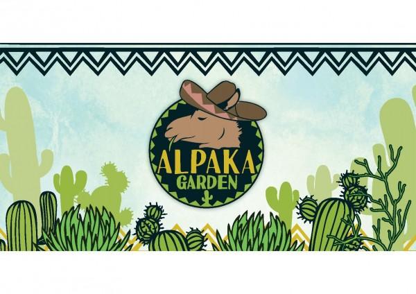 Deckenbanner - Alpaka Garden