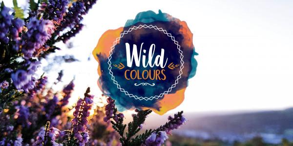 Deckenbanner- Wild colours