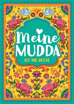 Postkarte - Meine Mudda