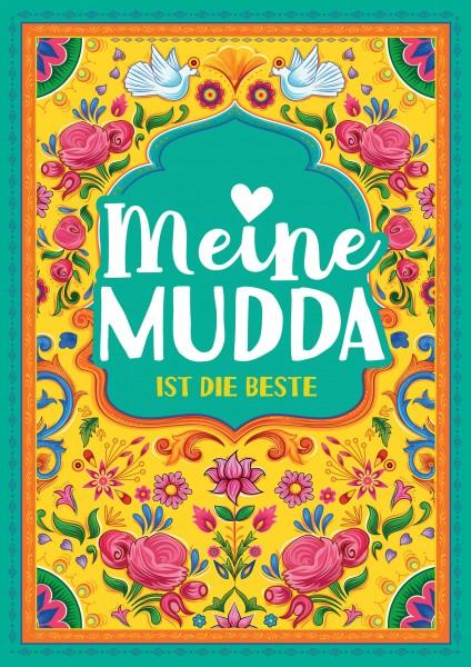DIN-A1 Plakat - Meine Mudda