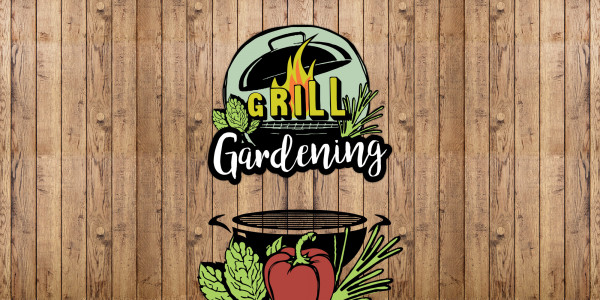 Deckenbanner - Grill Gardening