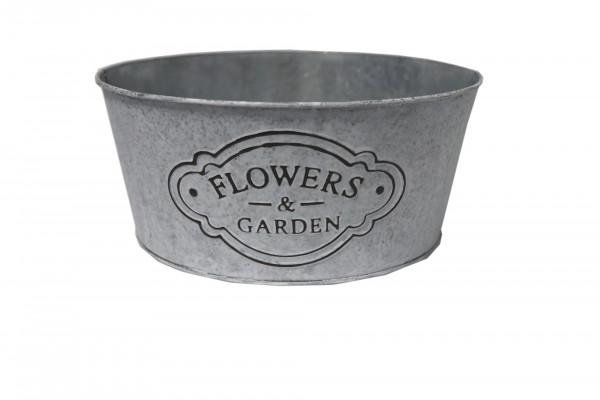Schale Flower&Garden Ø23cm H10cm weiß