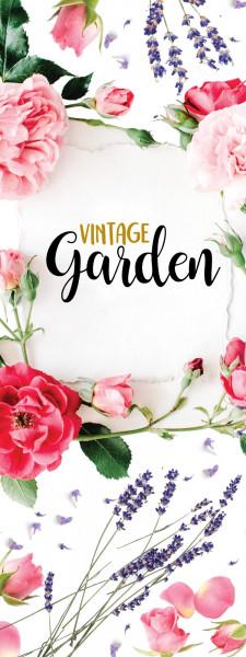 Hissflagge - Vintage Garden