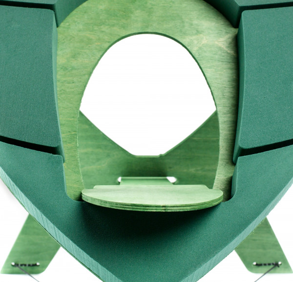 OASIS® BIOLINE® Urnenherz 60x60x5,5cm